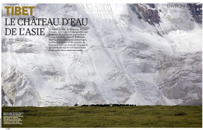Publication: Geo France, November 2013
