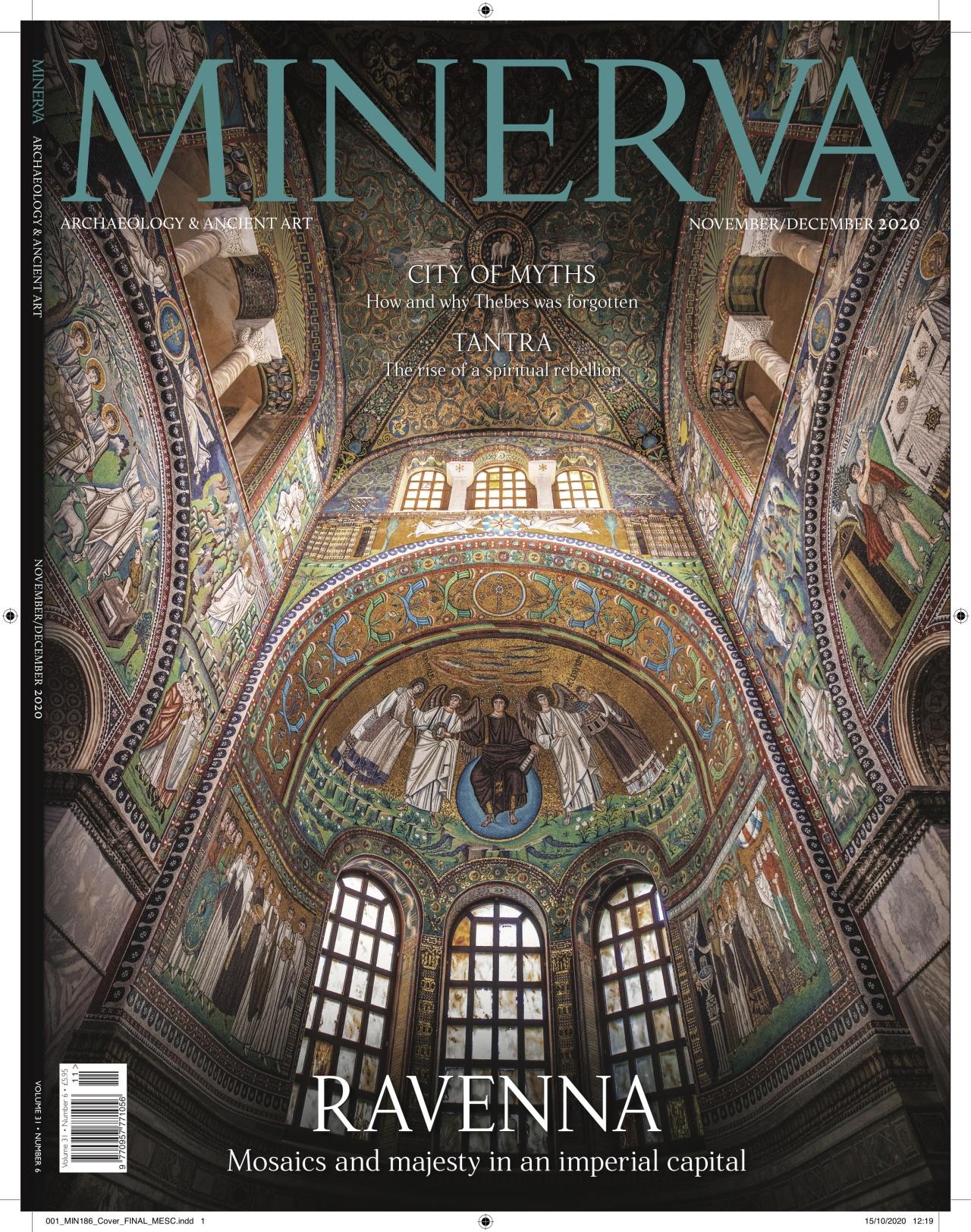 Kieran Dodds Ravenna mosaics in Minerva magazine, October 2020