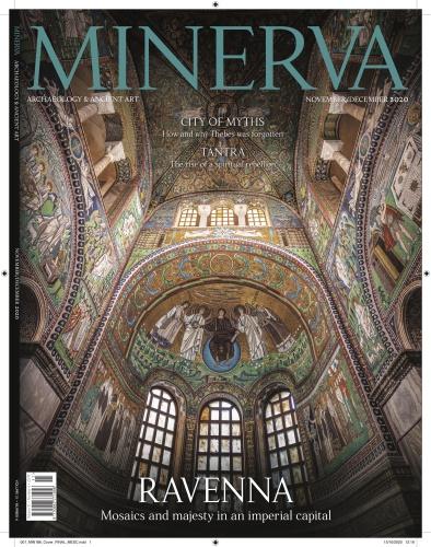 Ravenna mosaics in Minerva magazine, October 2020