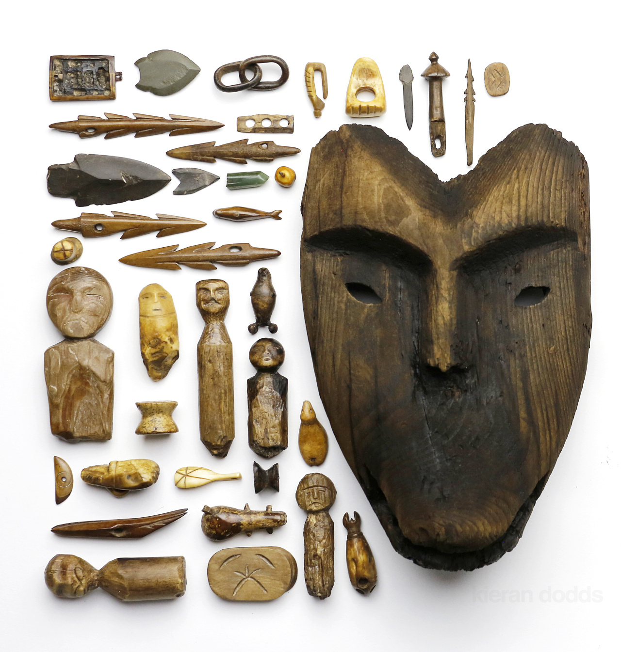 Kieran Dodds Eskimo artefacts for National Geographic, October 2014