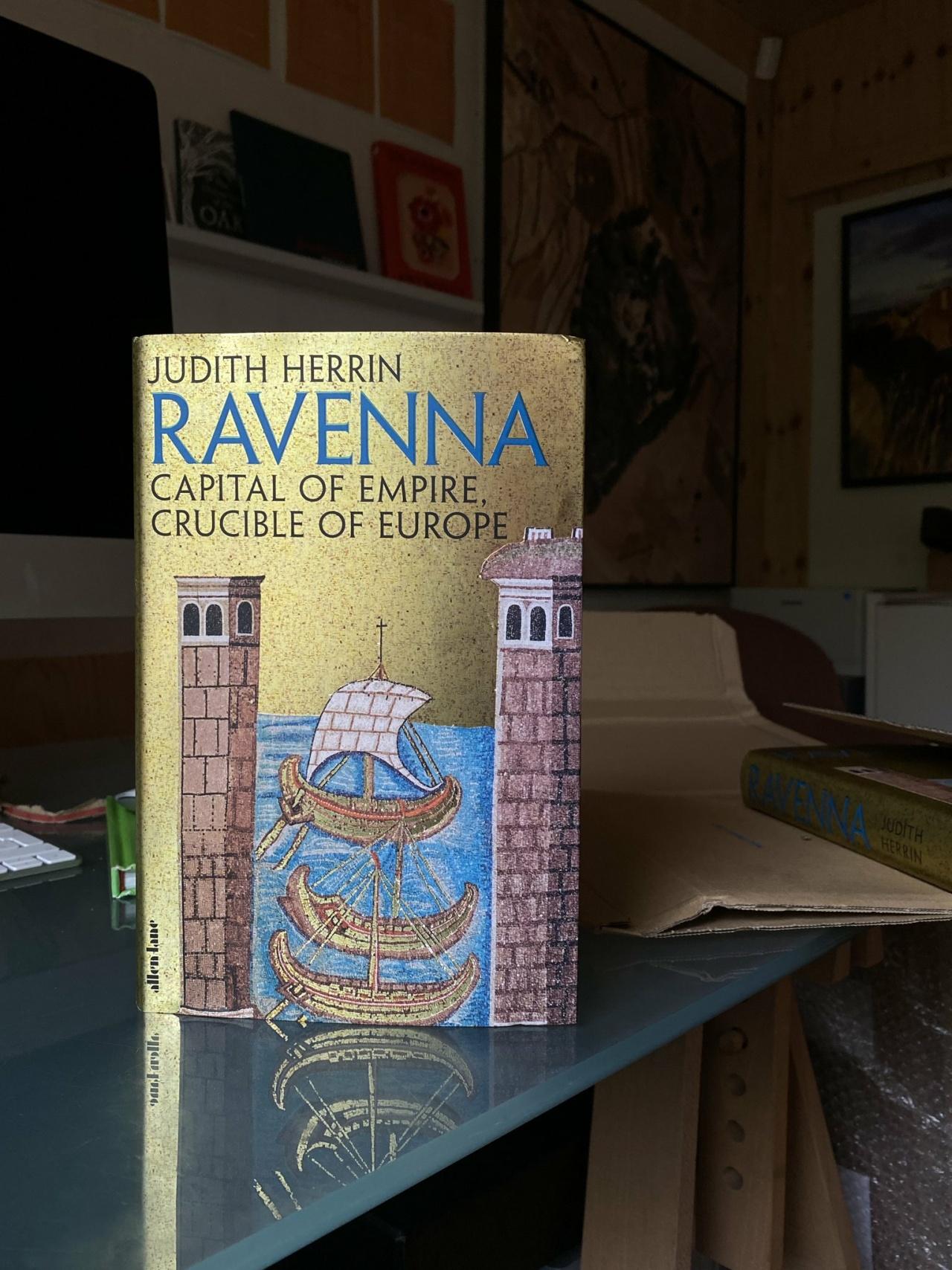 Kieran Dodds Ravenna commission for Penguin/Allen Lane, September 2020