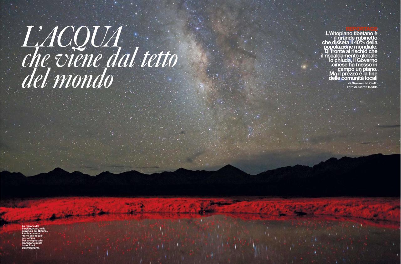 Kieran Dodds The Third Pole in La Repubblica D magazine, March 2013
