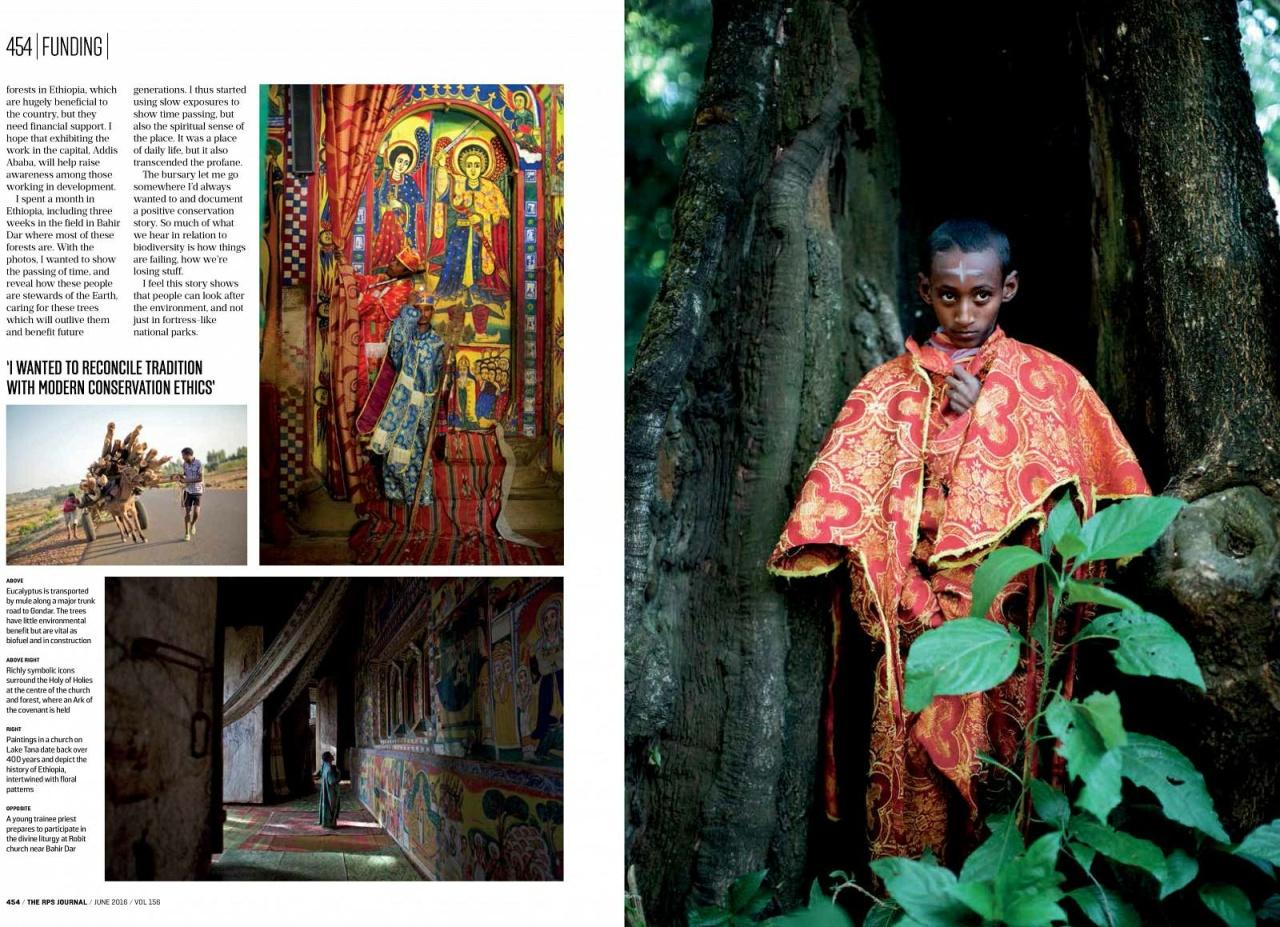 Kieran Dodds Hierotopia in Royal Photographic Society Journal, June 2016