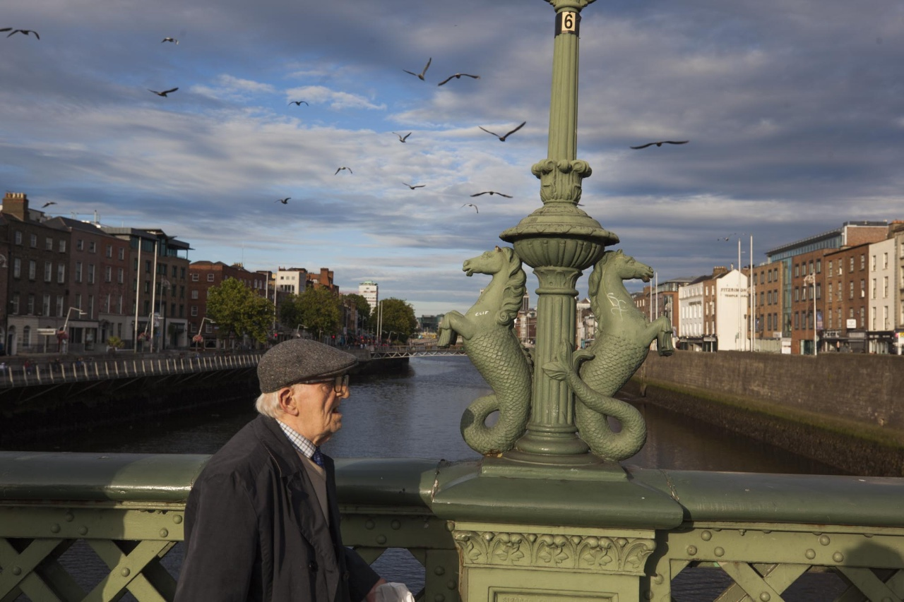 Kieran Dodds Documenting Dublin for National Geographic, July 2017