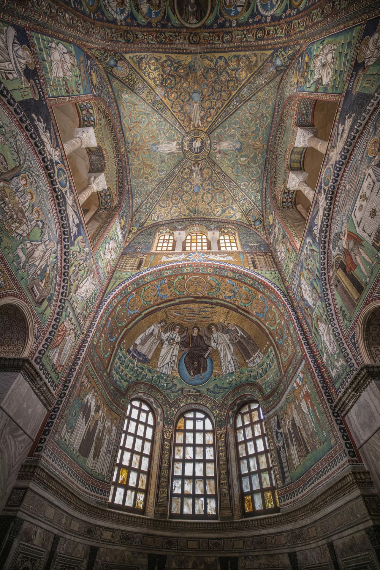 Kieran Dodds Ravenna commission for Penguin/Allen Lane, September 2020 Basilica di San Vitale, Ravenna, Italy.