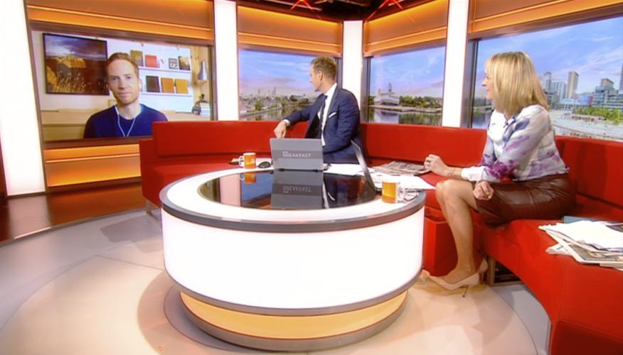BBC Breakfast Interview, November 2020