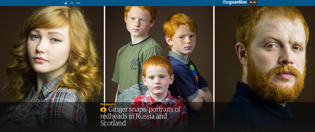 More things people said on The Guardian about Gingers, September 2017.