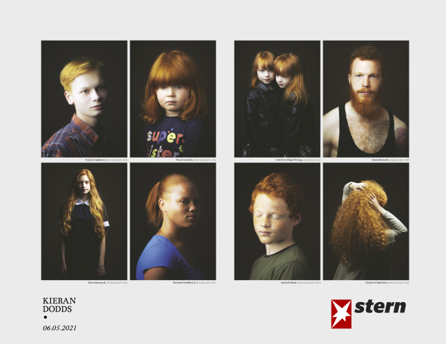 Gingers in Stern Magazine, May 2021